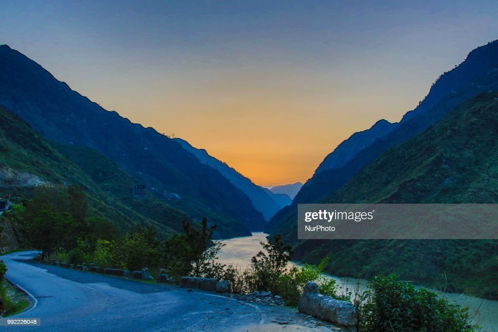 Summer season in Himachal Pradesh, India : News Photo