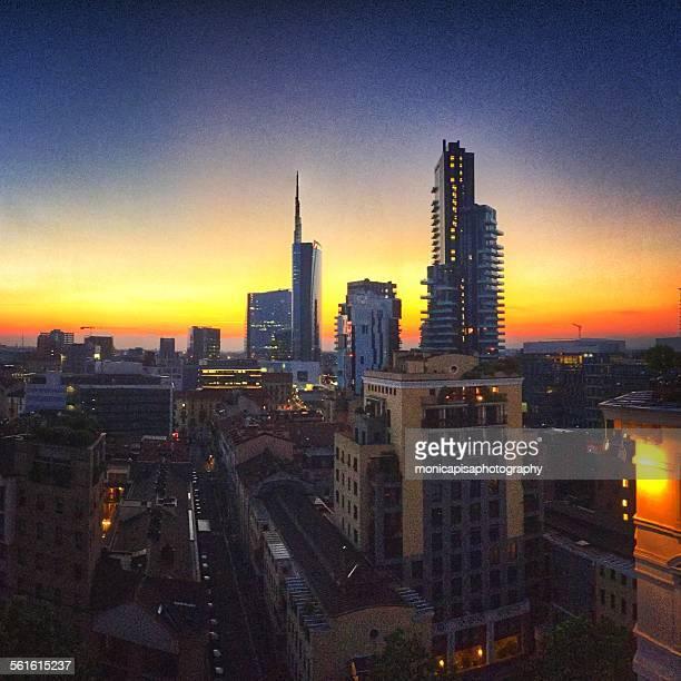 View of Beautiful Milano