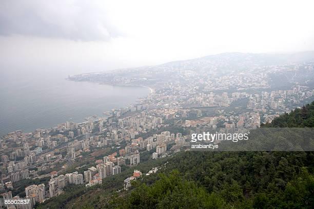 A View of Beirut, lebanon.
