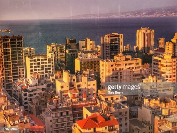 View of Beirut Lebanon