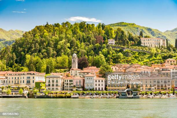 View of Bellagio from Lake Como, Lombardy, Italy