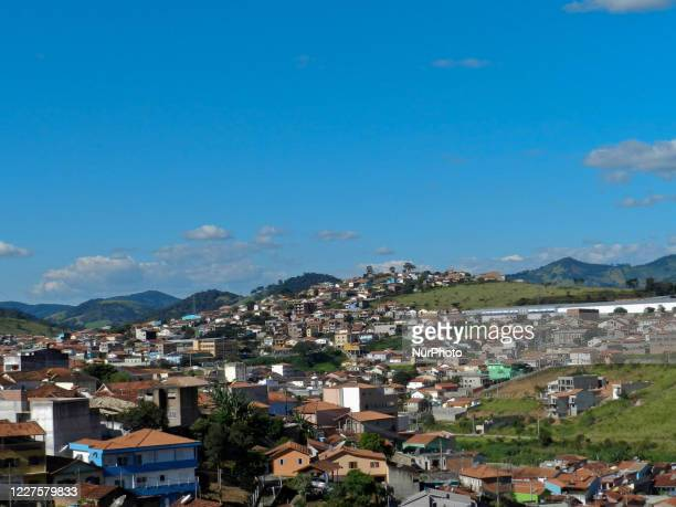 View of Belo Horizonte, Brazil on July 15, 2020. Brazil with 5,570 cities, 142 have never had any cases of Covid-19, to date; most are in the...