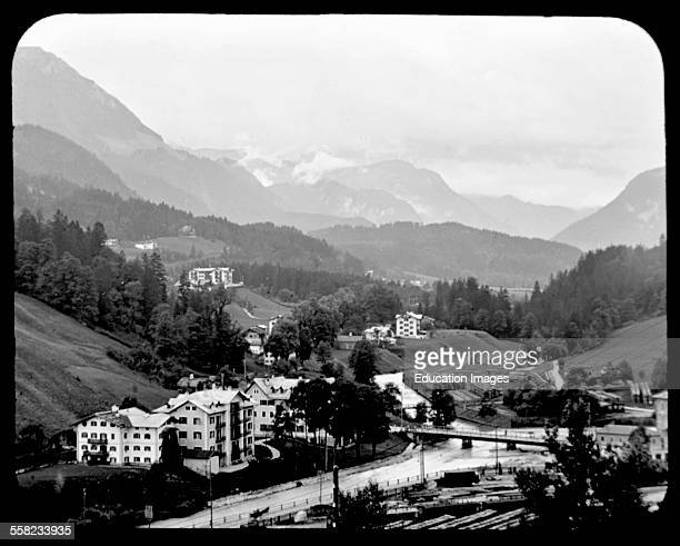 View of Berchtesgaden Germany 1903