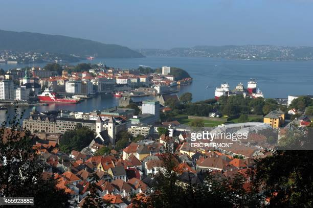 View of Bergen taken on September 12 2014 AFP PHOTO / ERIC PIERMONT