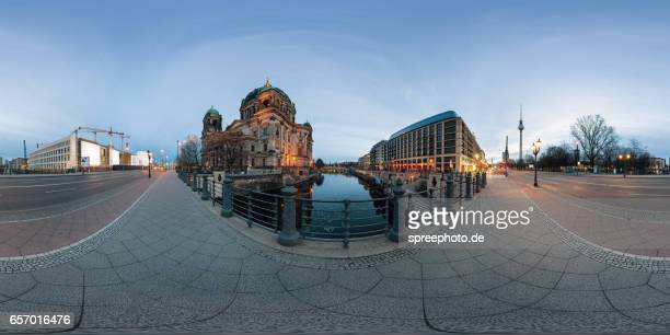 360° View of Berliner Dom und Stadtschloss