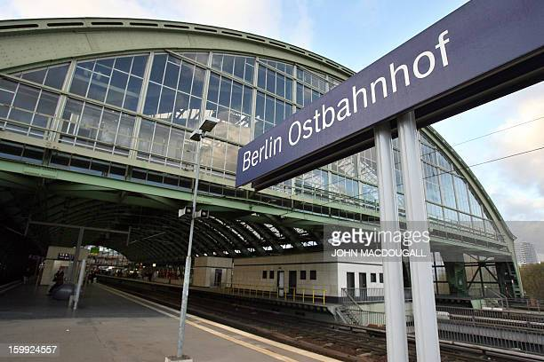 View of Berlin's Ost Bahnhof railway station taken 09 November 2006 German stateowned rail operator Deutsche Bahn will be partially privatised by...