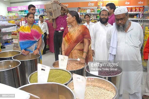 View of Big Bazar in Allahabad, Uttar Pradesh, India