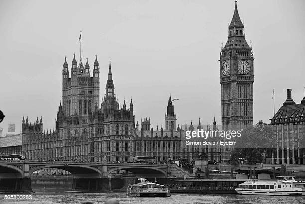 View Of Big Ben And House Of Parliament