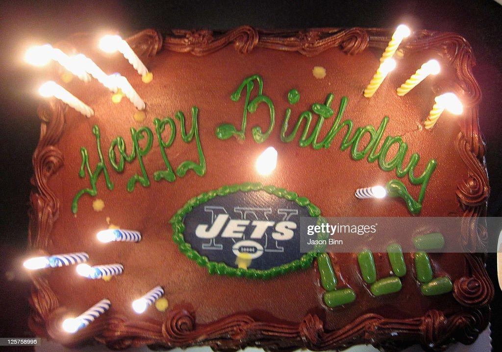 Super View Of Birthday Cake When The New York Jets Host The Dallas Funny Birthday Cards Online Amentibdeldamsfinfo