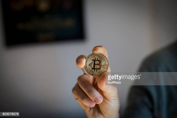 A view of Bitcoin token A split in the Bitcoin community is set to create a new incompatible version of the cryptocurrency They plan to offer...