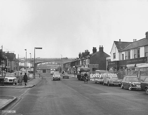 A view of Bletchley Bucks 17th March 1970 It will form part of the new city of Milton Keynes