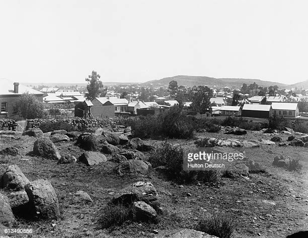 View of Bloemfontein from the fort