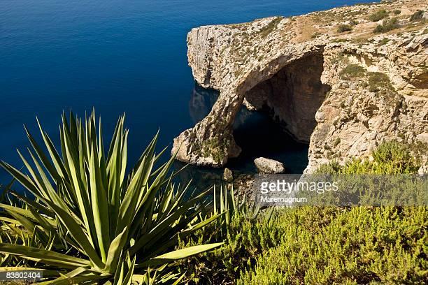 view of blue grotto - 青の洞窟 ストックフォトと画像