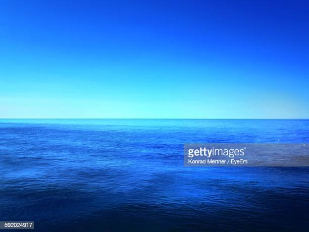 View Of Blue Sea Against Sky