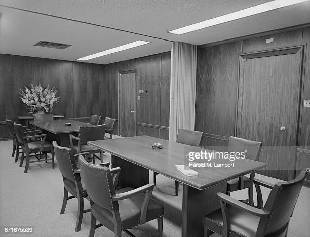 view of boardroom - number of people stock pictures, royalty-free photos & images