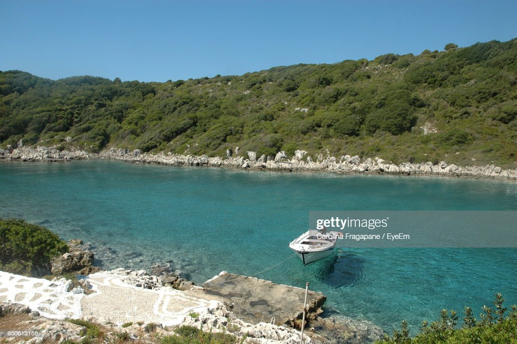View Of Boats In Sea : Foto stock