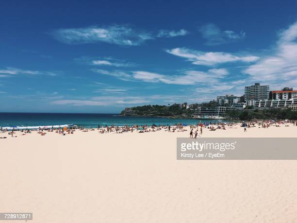 View Of Bondi Beach Against Sky