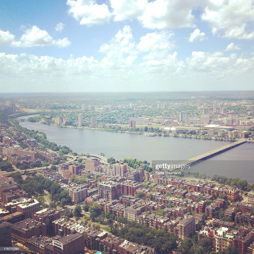 View of Boston : Stock Photo