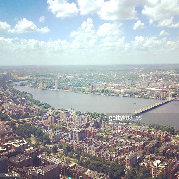 view of boston - cambridge massachusetts stock pictures, royalty-free photos & images