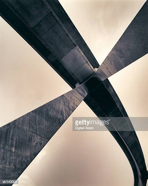 View of bridge from underneath
