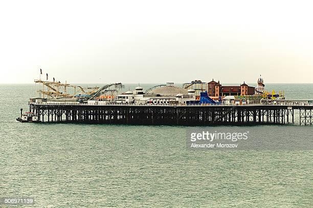 CONTENT] View of Brighton pier UK