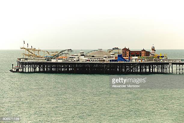 View of Brighton pier, UK.