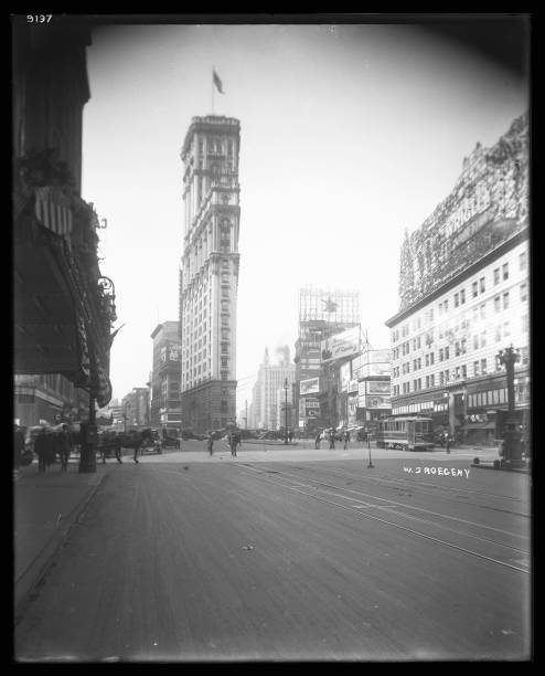 View of Broadway and Seventh Avenue