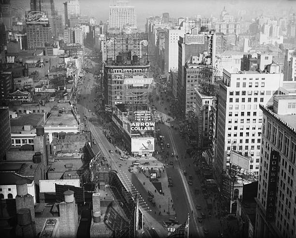 View Of Broadway Near Times Square, 1920