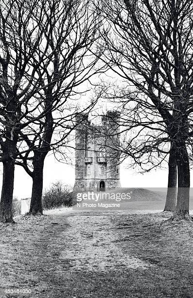 View of Broadway Tower in Worcestershire England taken on November 27 2013 The tower dates from the 18th century