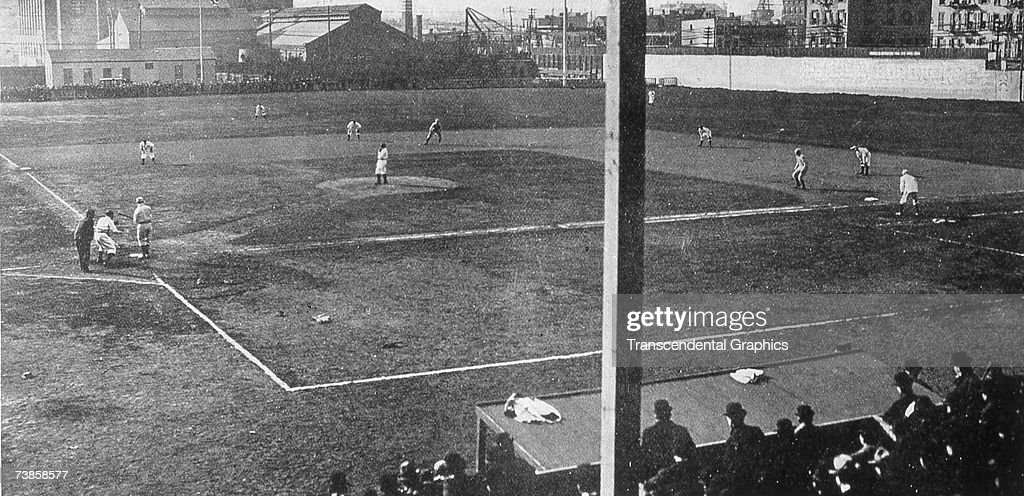 Washington Park Brooklyn Opening Day 1904 : News Photo