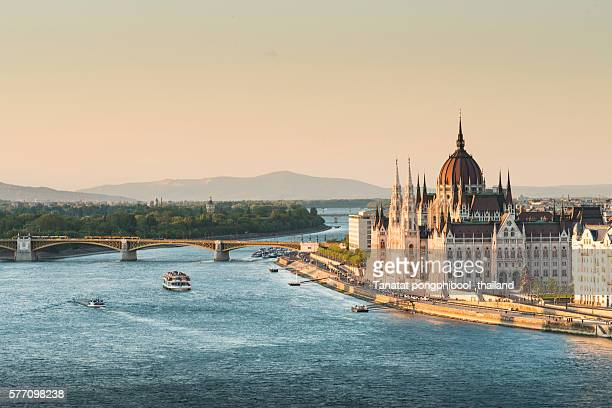 view of budapest, hungary - budapest stock pictures, royalty-free photos & images
