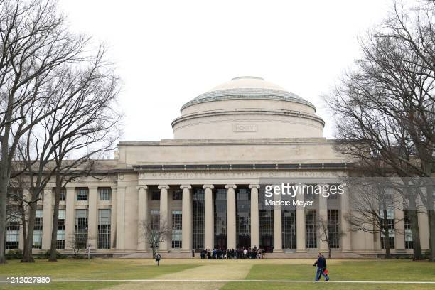 A view of Building 10 on the campus of Massachusetts Institute of Technology on March 12 2020 in Cambridge Massachusetts Students have been asked to...
