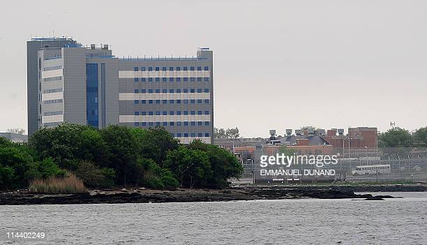 A view of buildings at the Rikers Island penitentiary complex where IMF head Dominique StraussKahn is being held in New York on May 17 2011 The grand...