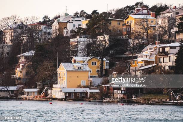view of buildings in city - colbing stock pictures, royalty-free photos & images
