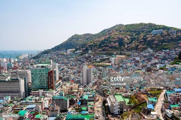 View of Busan, South Korea