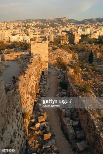 A view of Byblos Castle built by the crusaders in the 12th century It is located in an archaeological site near the port in Byblos Byblos is the...