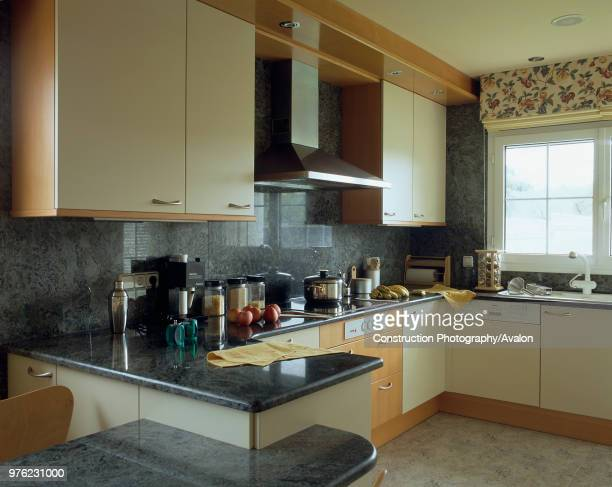 View of cabinets in an opulent kitchen