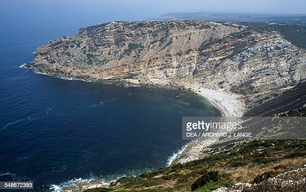 View of Cabo Espichel headland Province of Extremadura Portugal