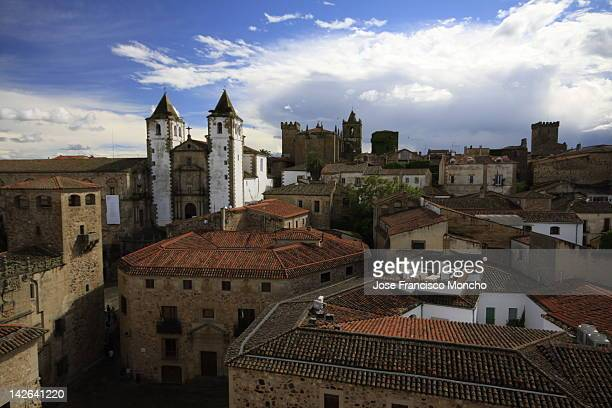 View of Caceres