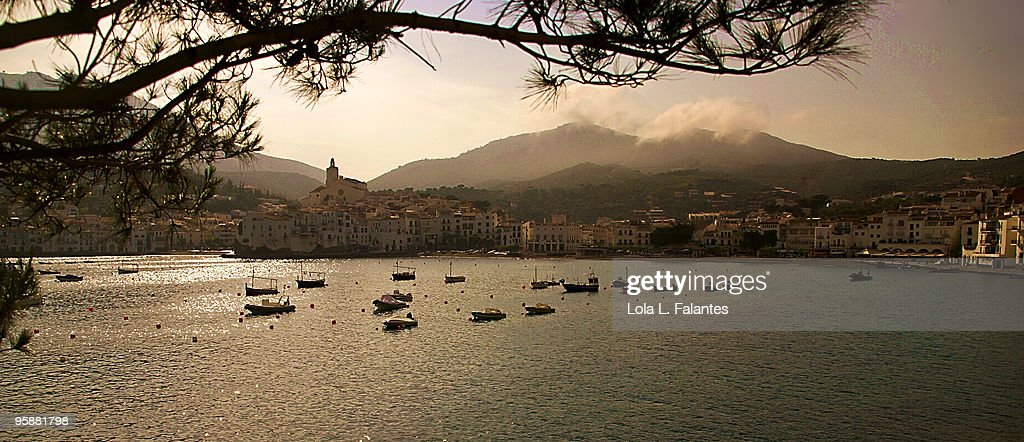 View of Cadaques : Stock-Foto