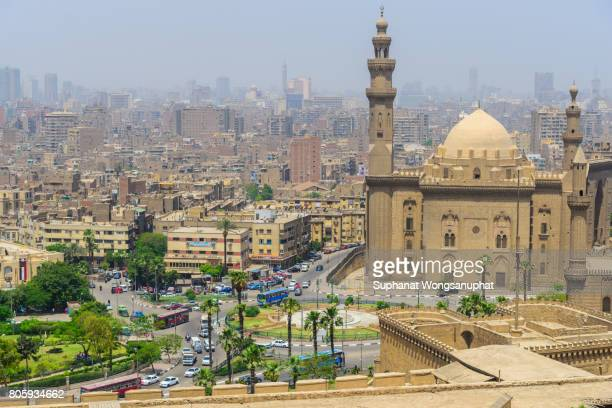 View of Cairo city from Citadel