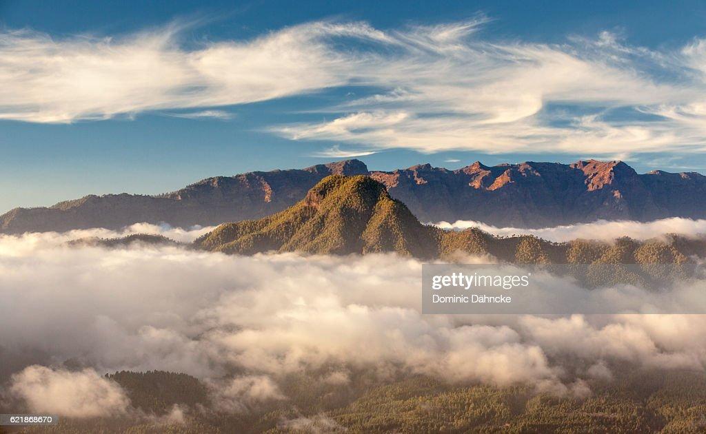 View Of Caldera De Taburiente National Park Stock Photo