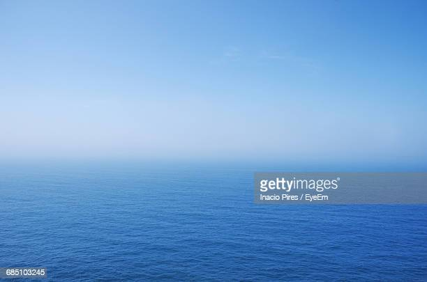 View Of Calm Blue Sea Against The Sky