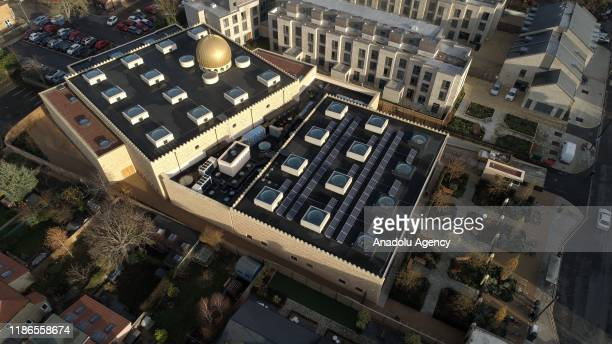 A view of Cambridge Mosque in Cambridge England on November 29 2019 In addition to its awardwinning architecture which adheres to Islamic traditions...
