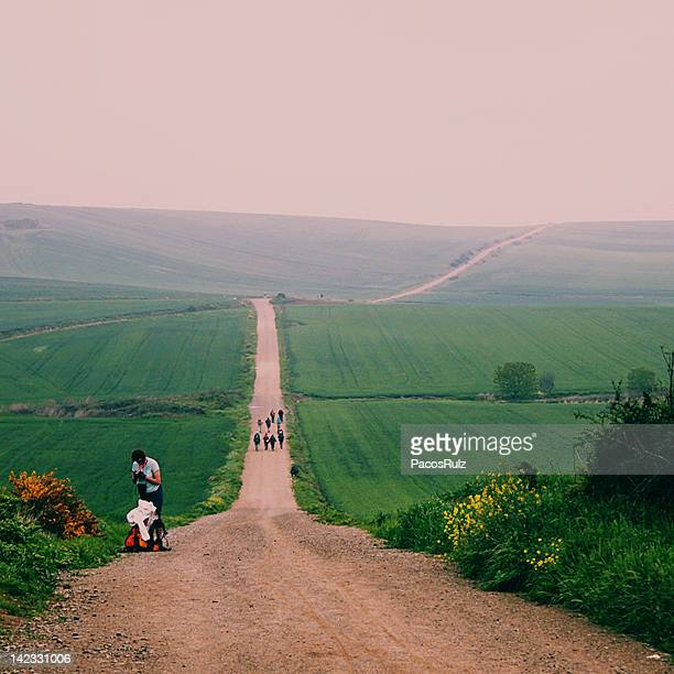 View of Camino de Santiago