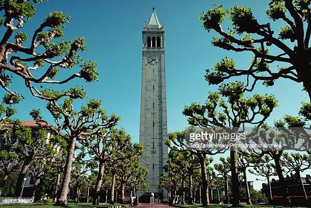 View of Campanile Esplanade on the University of California Berkeley campus   Location University of California Berkeley California USA