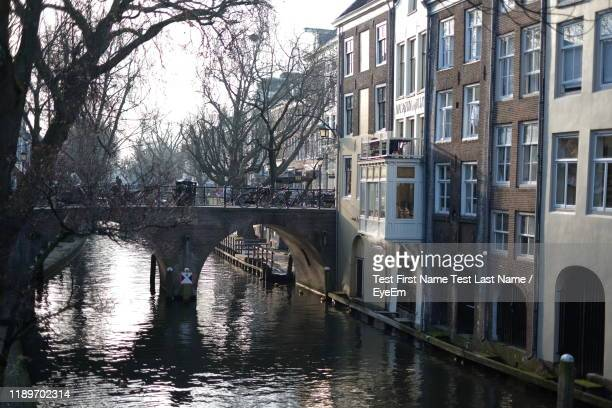view of canal by buildings - last stock pictures, royalty-free photos & images