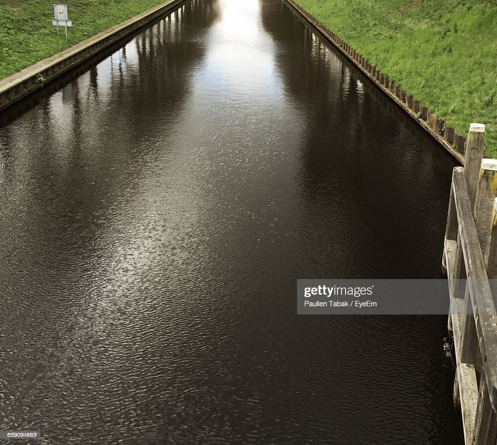 View Of Canal : Stockfoto