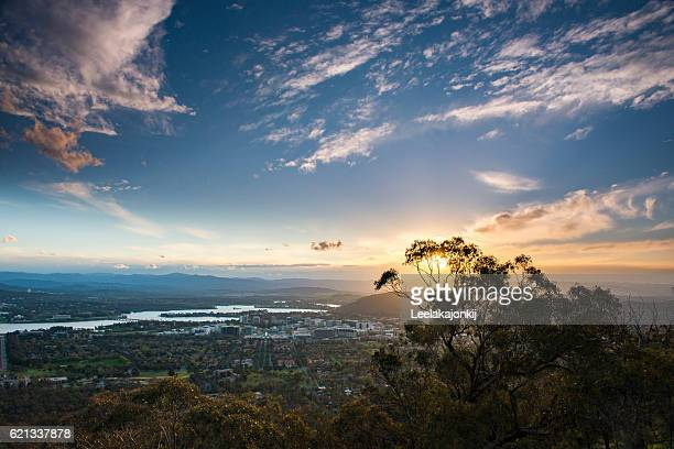 View of Canberra Australia