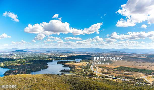 View of Canberra.